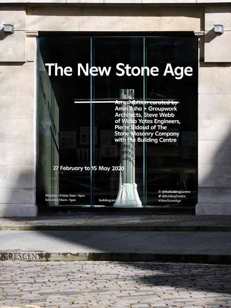 New Stone Age at the Building Centre, London