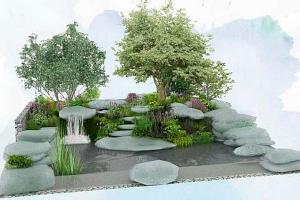 The Bible Society's Psalm 23 Garden