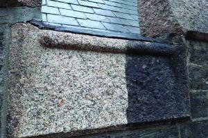 cleaned granite