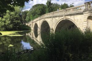Clumber Park ornamental bridge