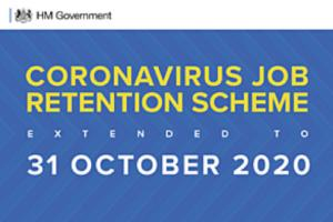 Coronavirus Job Retention Scheme extended to end of October