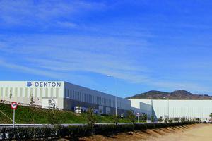 Dekton factory