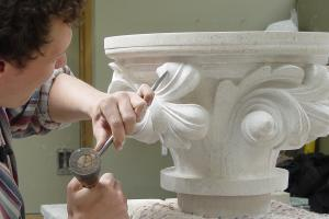 Grinling Gibbons carving competition