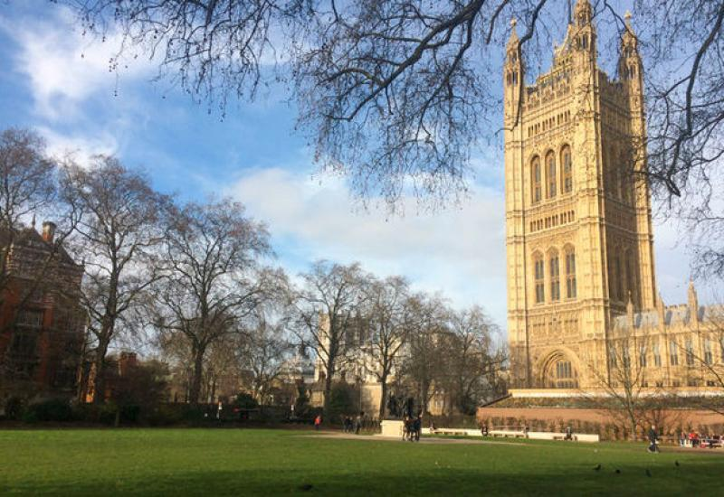 Victoria Tower Gardens in Westminster