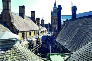 Manchester Town Hall roofs