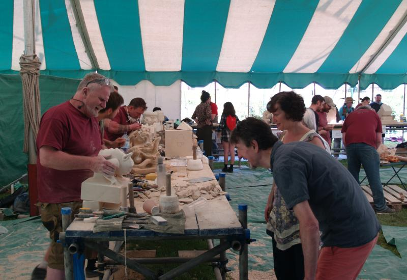 Wells Stone Carving Festival