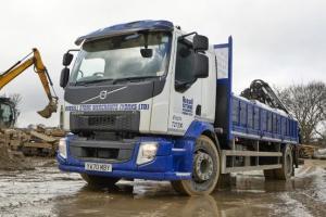 Russell Stone Merchants' new Volvo