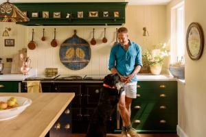 Ben Fogel in his Silestone kitchen