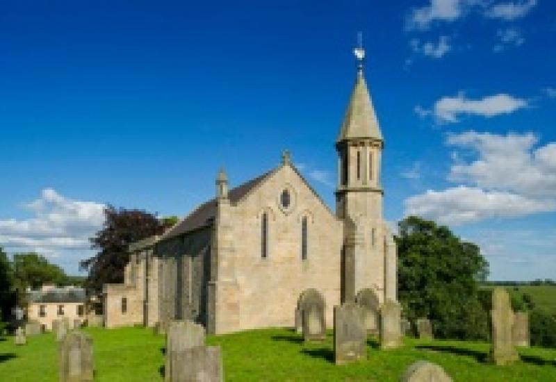 At risk – The Church of St Andrew in County Durham is affected by structural movement and its roof has reached the end of its life.