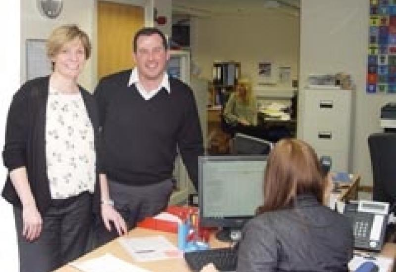 Jo Bonser and Richard Hill are looking for growth as the company celebrates its 50th anniversary.