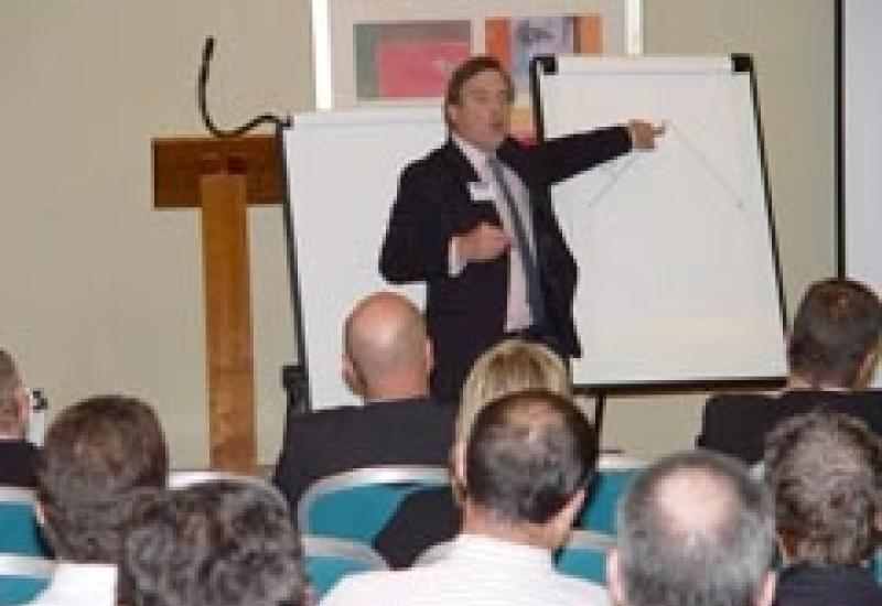 David Constantine of Context Coaching tells Stone Federation members how to survive the recession.