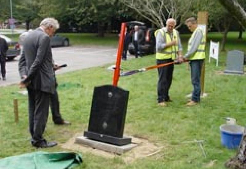 Memorial fixing test