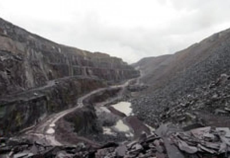 Penrhyn Quarry at Bethesda is one of the main sources of Welsh slate today.