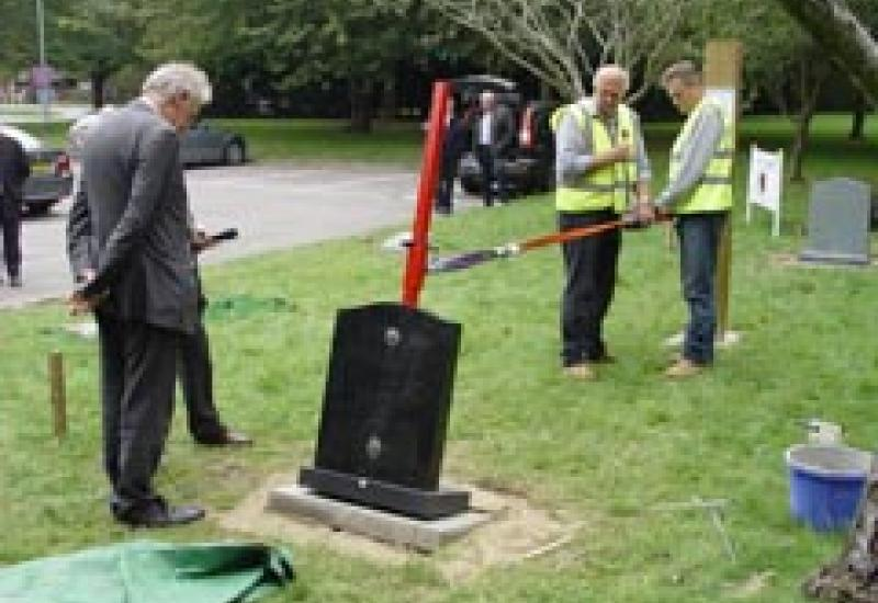 The Stone-Safe demonstration last year.