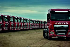 Marshalls lorries