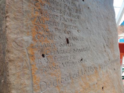 Carrie Horwood war memorial