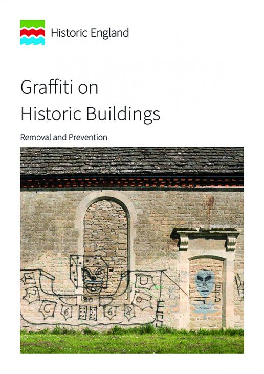 Historic England advice on graffiti removal