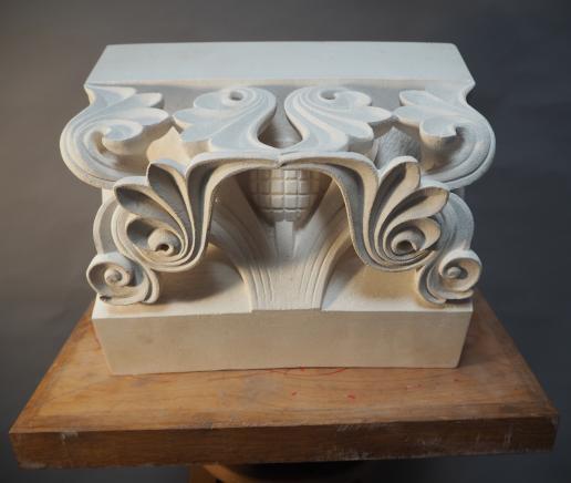 Temple Voussoir by George Edwards