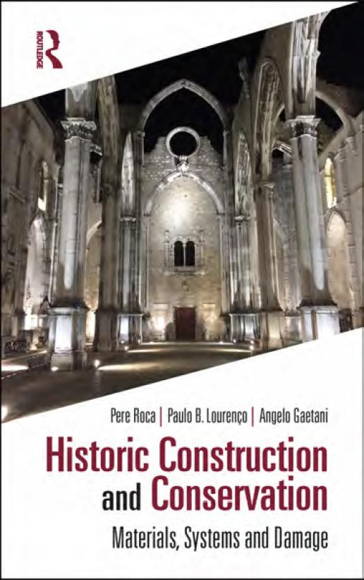 Historic Construction and Conservation - Materials, Systems and Damage (ISBN 978-0-367-14574-3)