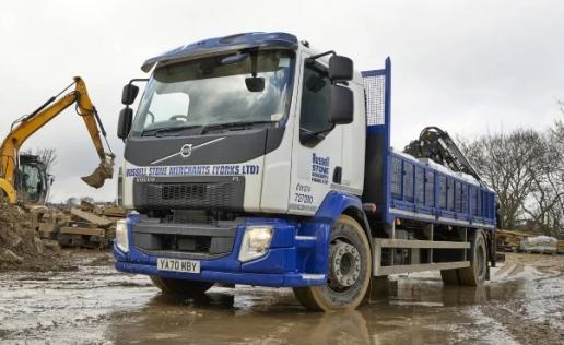 Russell Stone Merchants' new Volvo