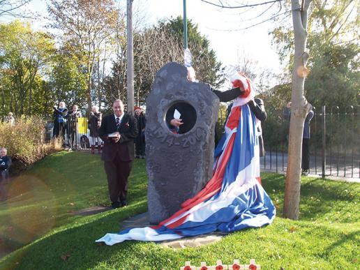 Caroline Dear memorial