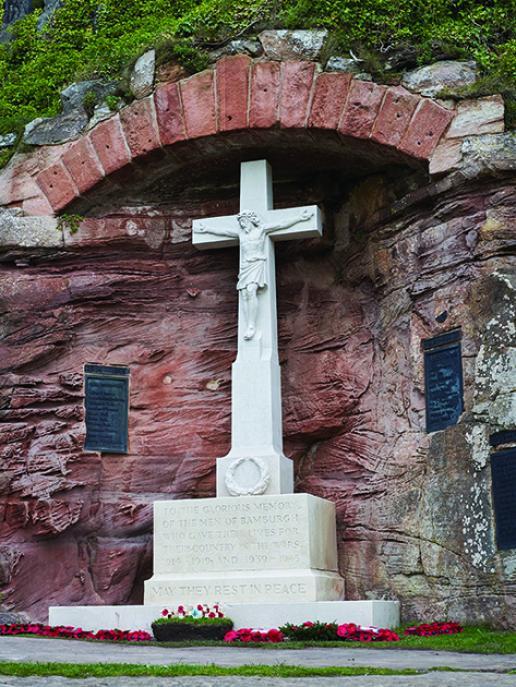 Bamburgh ware memorial
